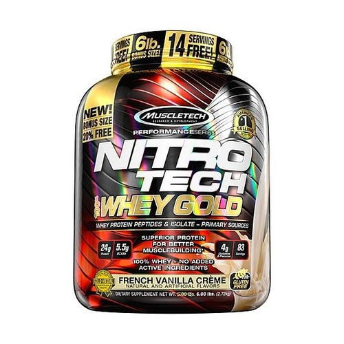 Nitro Tech Whey Muscletech